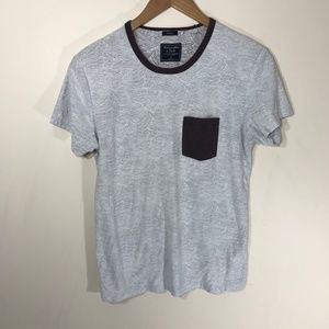 Abercrombie & Fitch Muscle Fit Pocket Tee Size S